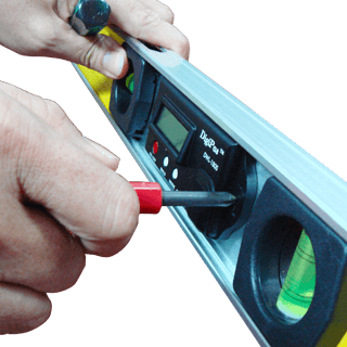 converting spirit level into digital level using DWL-180